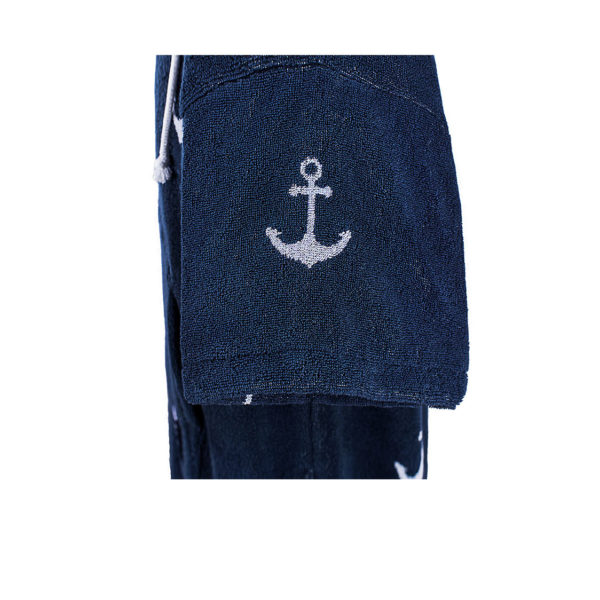 Atlantic Shore | Surf Poncho | Anchor | Adults | Sleeve