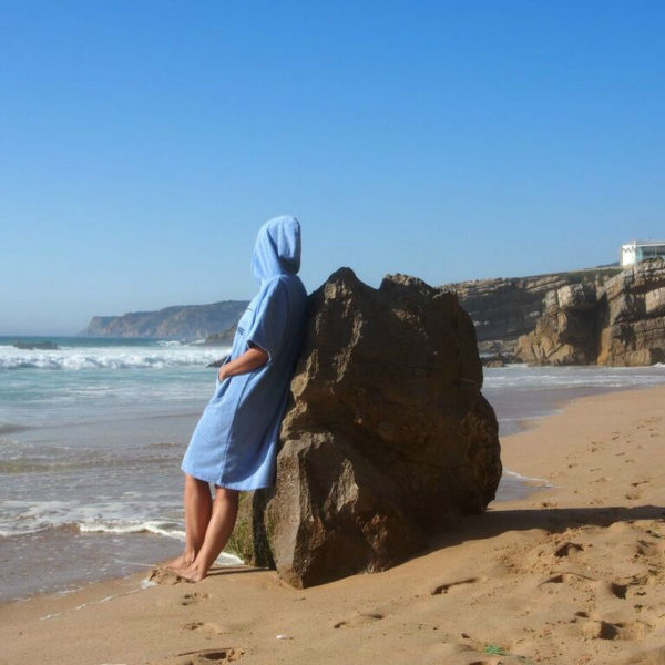 Atlantic Shore | Surf Poncho | Basic | Light Blue 2