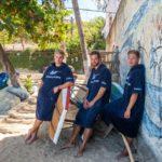 Atlantic Shore   Surf Poncho   Basic   Navy Blue 1
