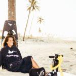 Atlantic Shore   Surf Poncho   Basic   Navy Blue 2