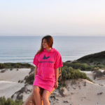 Atlantic Shore | Surf Poncho | Basic | Pink 2