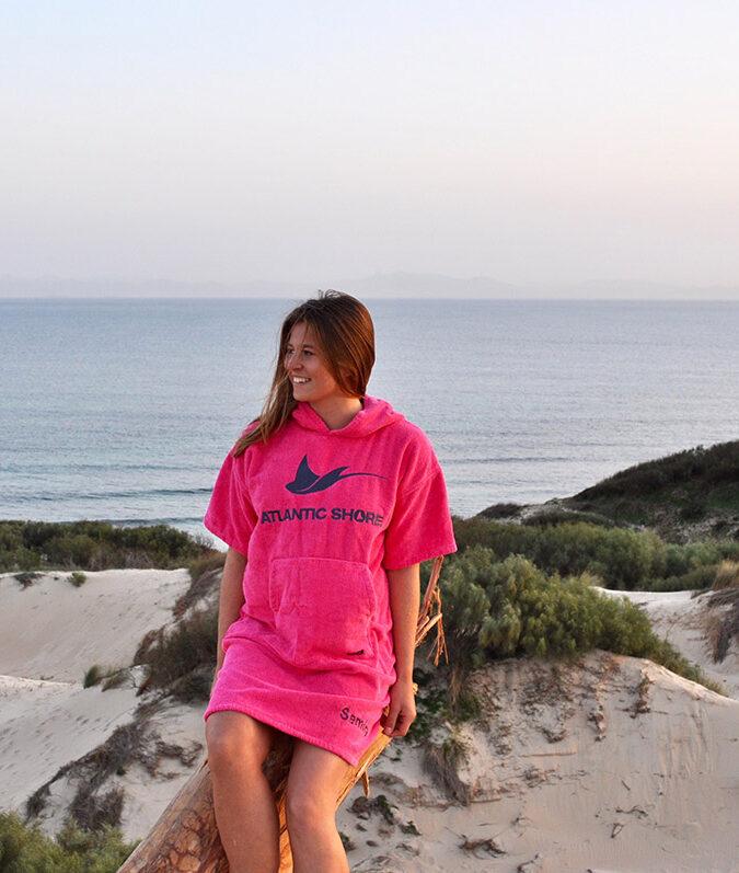 Atlantic Shore   Surf Poncho   Basic   Pink 2