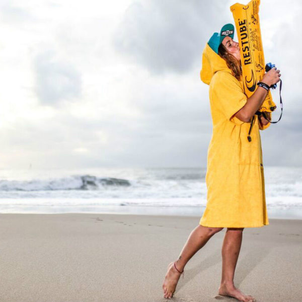 Atlantic Shore | Surf Poncho | Basic | Yellow 2