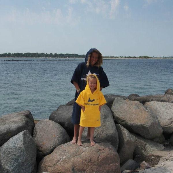 Atlantic Shore | Surf Poncho | Basic | Kids | Yellow 2