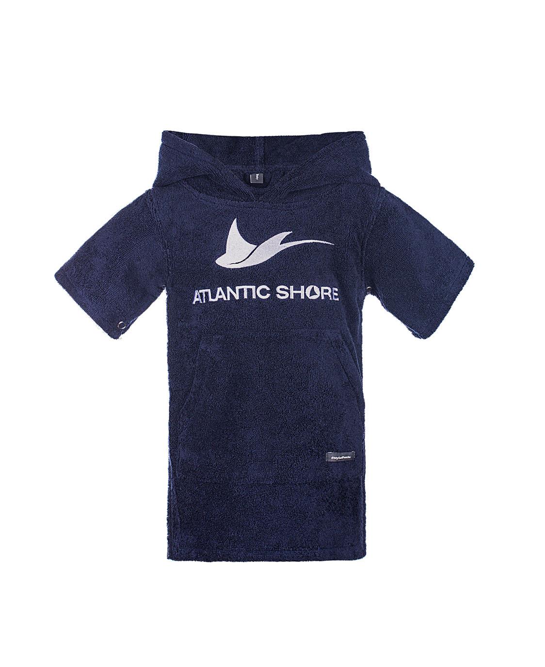 Atlantic Shore | Surf Poncho | Basic | Baby | Navy Blue