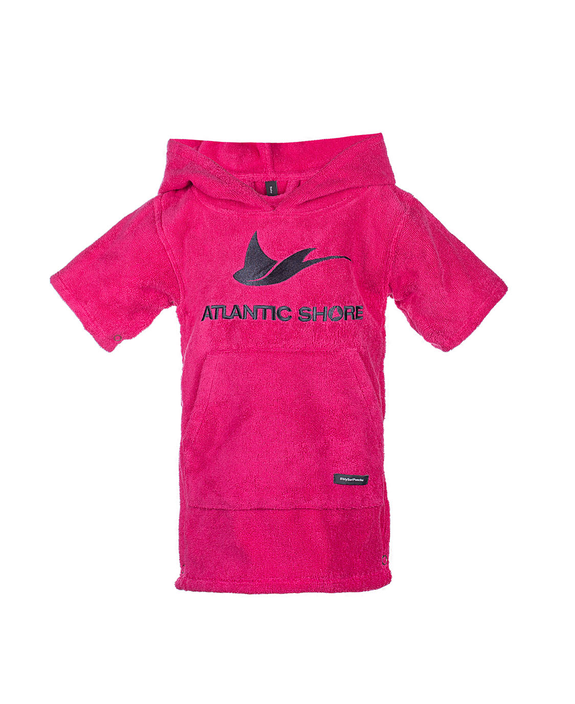 Atlantic Shore | Surf Poncho | Basic | Baby | Pink