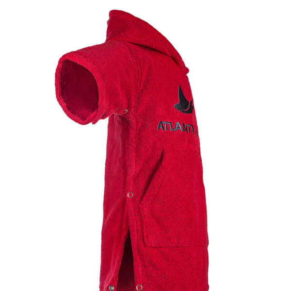 Atlantic Shore | Surf Poncho | Basic | Baby | Red