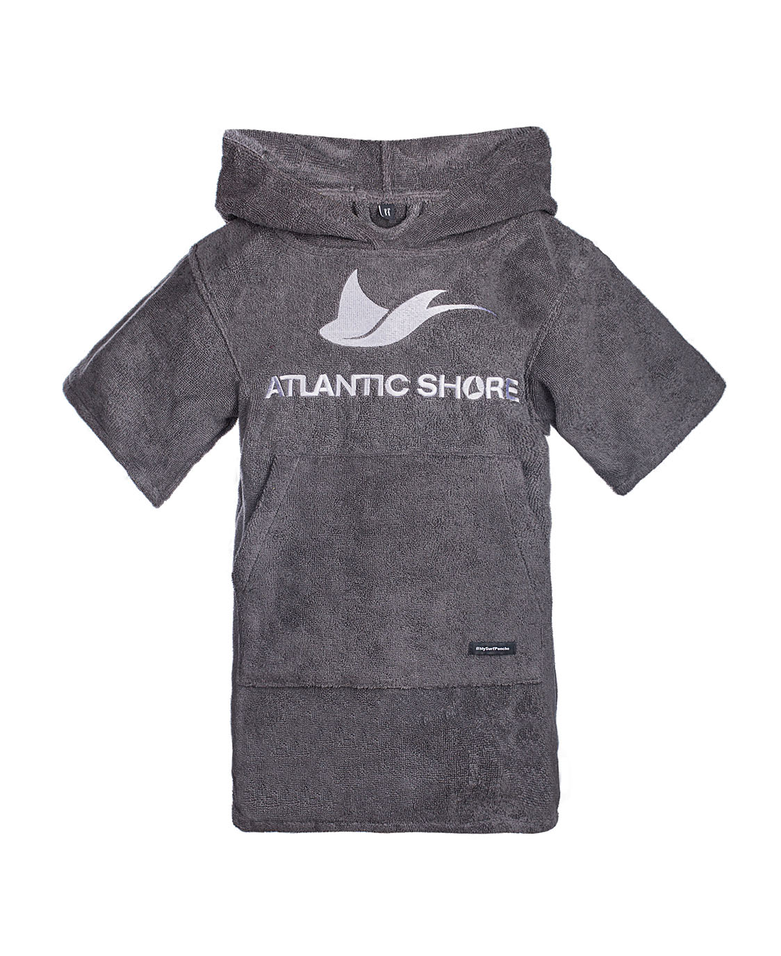 Atlantic Shore | Surf Poncho | Basic | Kids | Grey