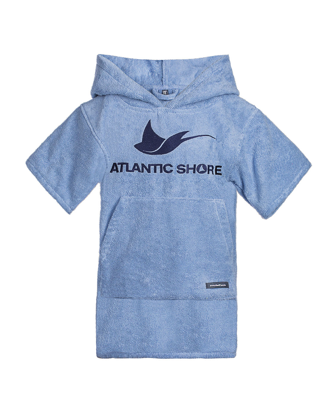 Atlantic Shore | Surf Poncho | Basic | Kids | Light Blue