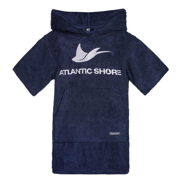 Atlantic Shore | Surf Poncho | Basic | Kids | Navy Blue