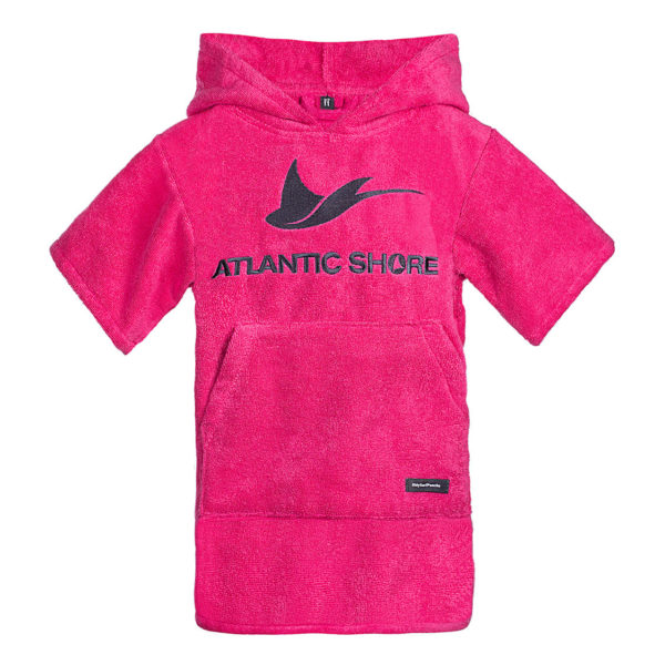 Atlantic Shore | Surf Poncho | Basic | Kids | Pink
