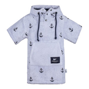 Atlantic Shore | Surf Poncho | Anchor | Kids