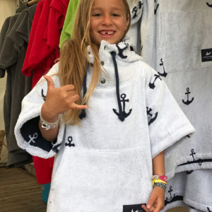 Surf Ponchos - Anchor - Kinder