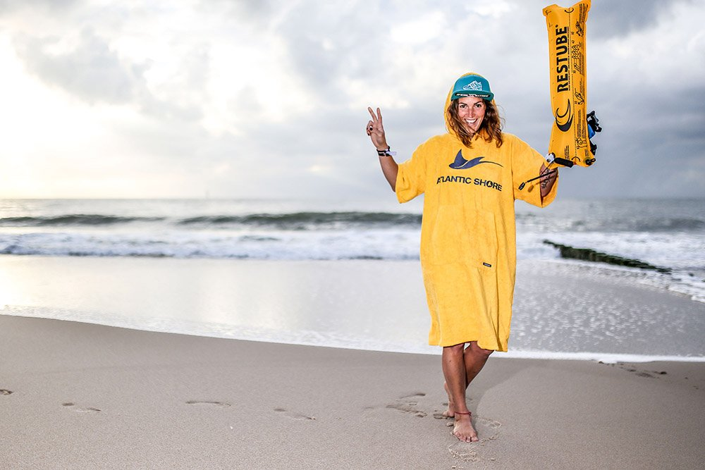 Atlantic Shore | Surf Poncho | Basic | Yellow