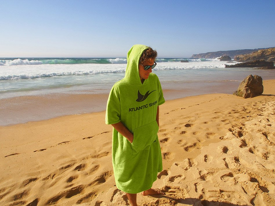 Atlantic Shore | Surf Poncho | Basic | Green