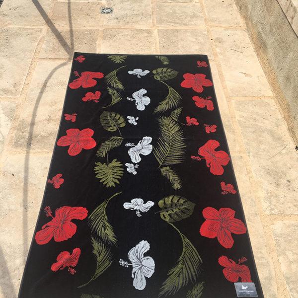 Atlantic Shore | Beach Towel | Handtuch | Hibiscus