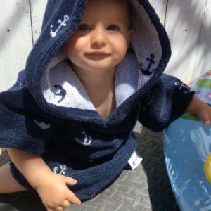 Surf Ponchos - Anchor - Babys