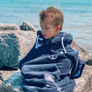 Surf Ponchos - Anchor - Kinder